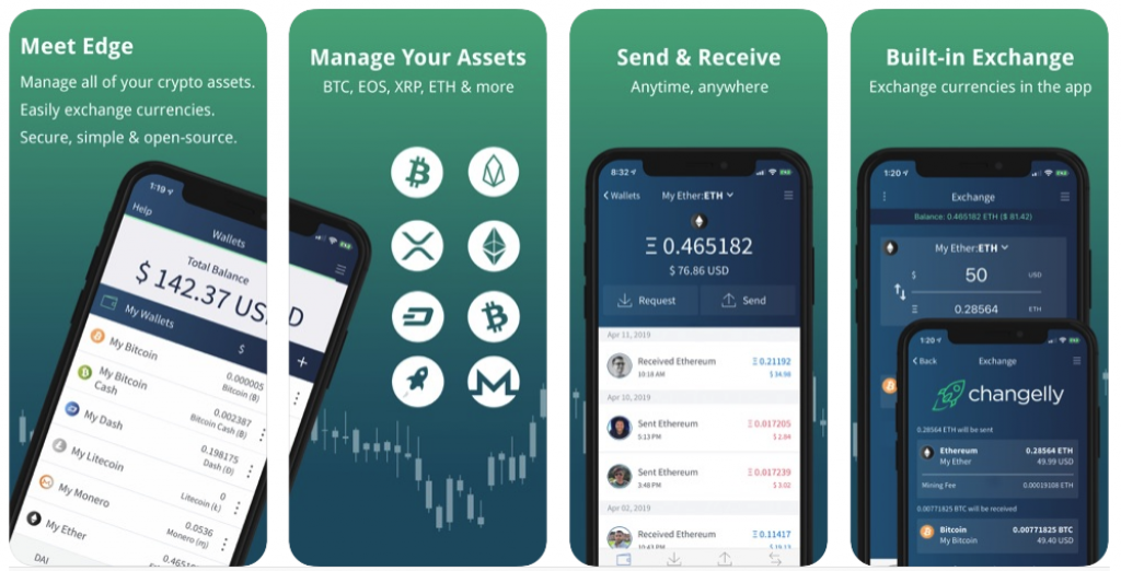 Edge wallet an open source mobile cryptocurrency wallet