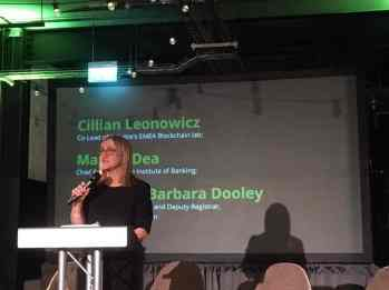 Mary O'Dea, Chief Executive, Institute of Banking