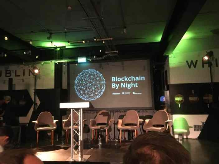 Blockchain By Night @ Teelings Distillery