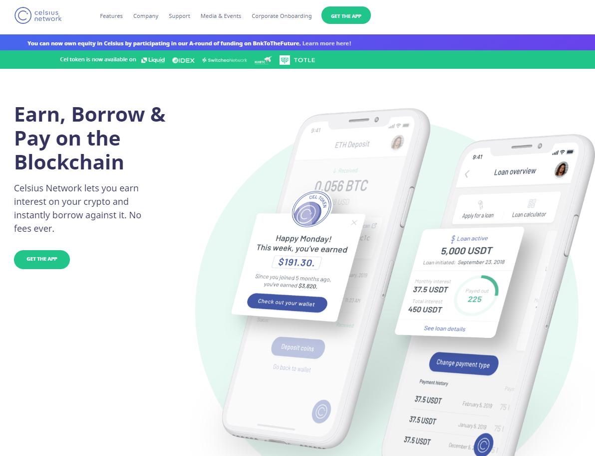 Celsius Network Review – Get $20 and earn up to 11