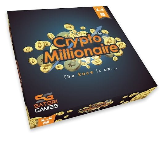 Crypto Millionaire Board Game launching soon on Kickstarter