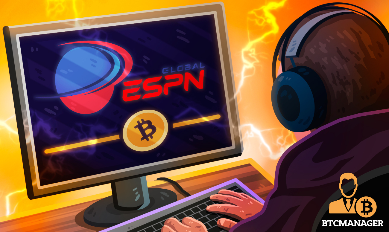 ESPN Global to Launch Blockchain Gaming Platform with Support for Bitcoin Payments