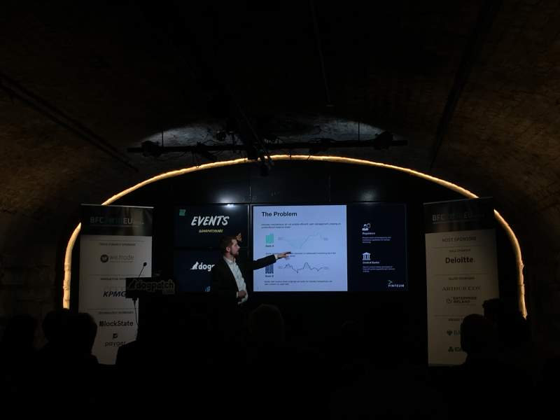 Finteum @ Blockchain For Finance Conference