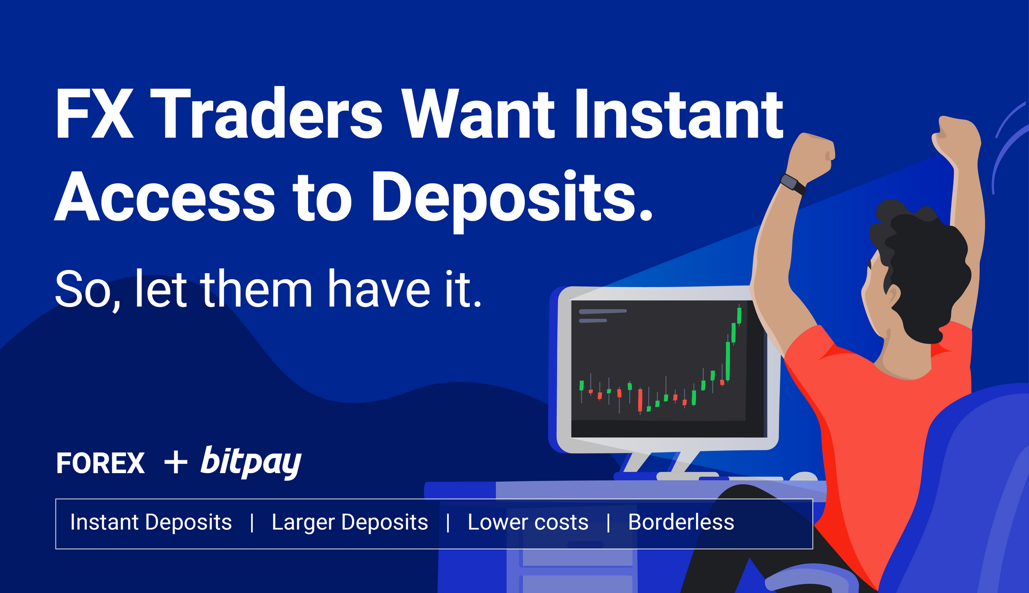 Forex brokers attract traders using BitPay for instant Bitcoin deposits