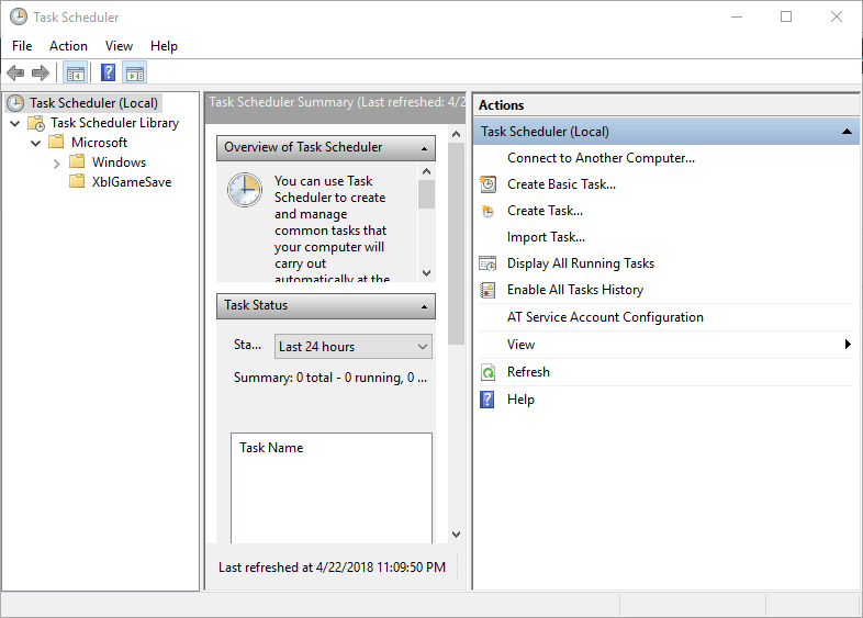 How To Start XMRStak When Your Computer Is Idle on Windows 10