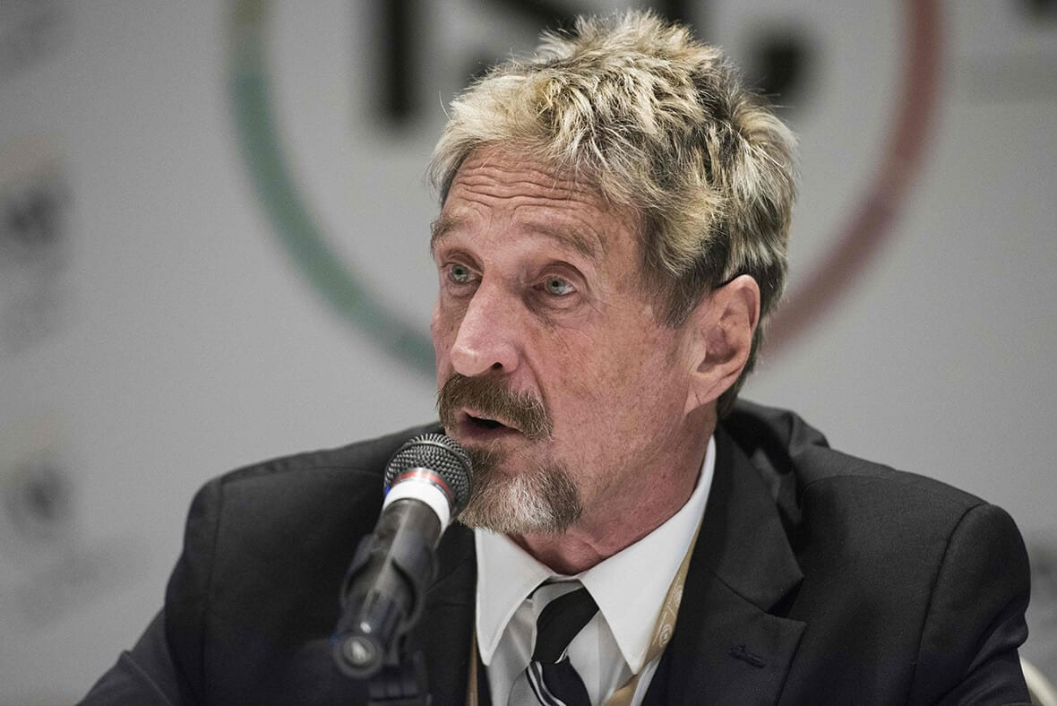 Intel Sues John McAfee Over Naming Rights for New Privacy Project