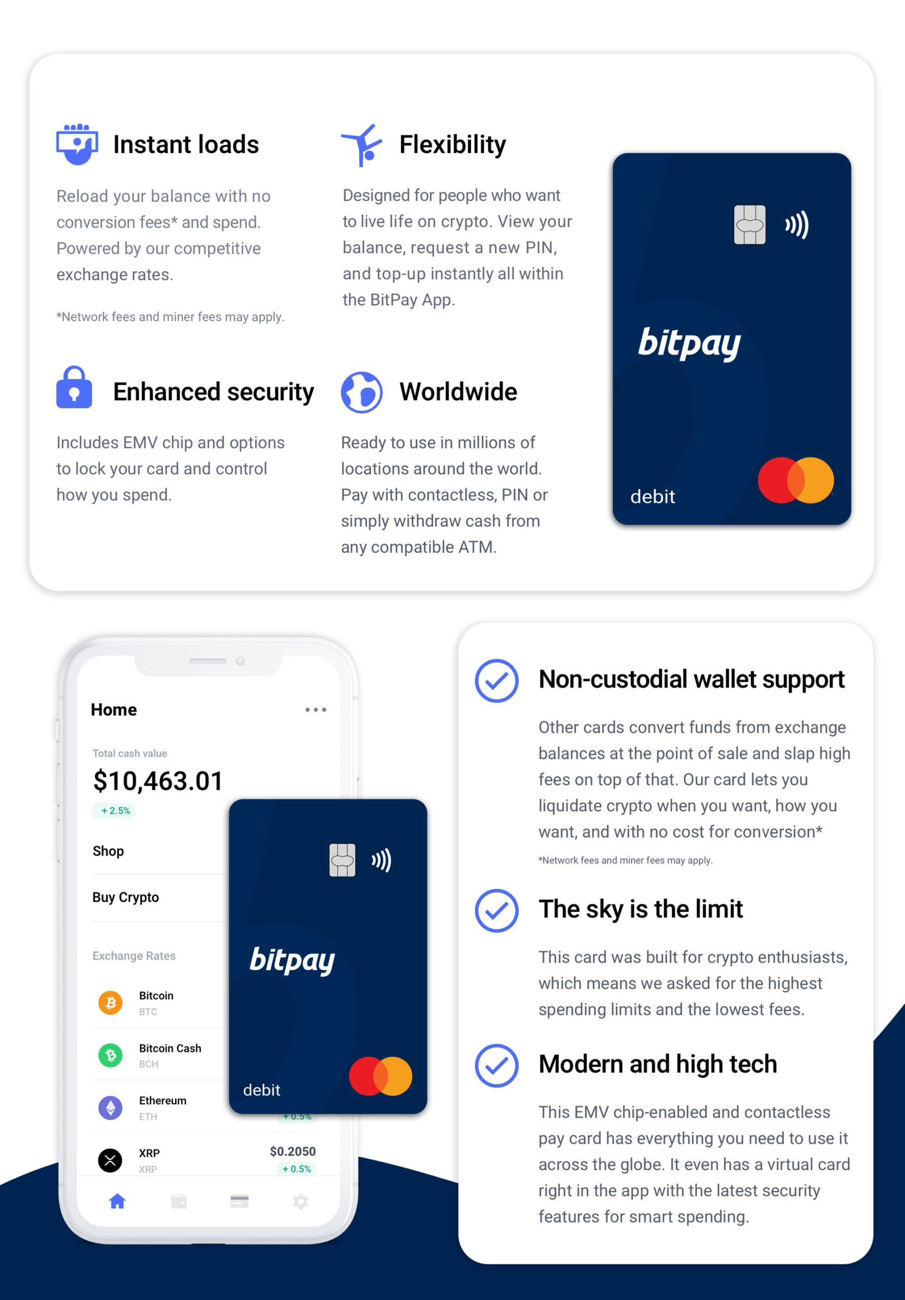 Introducing The New BitPay Card