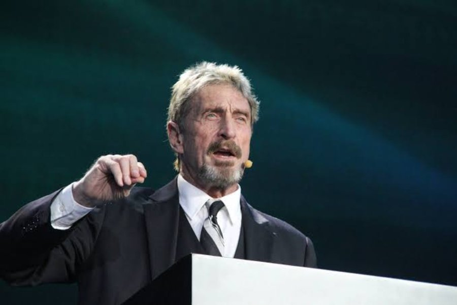"John McAfee calls bitcoin an ""old, tired and a worthless coin"
