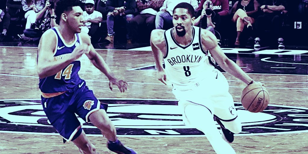 NBA's Spencer Dinwiddie raises lackluster $1