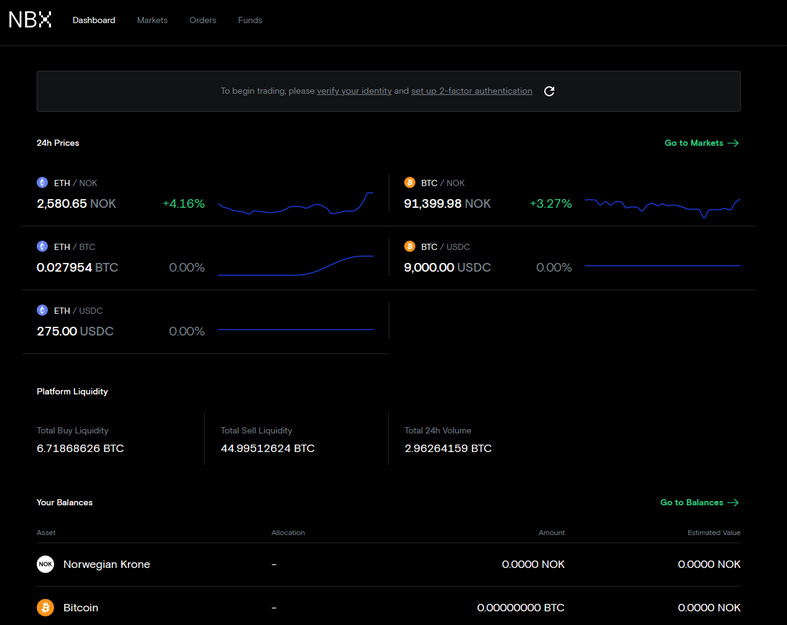 NBX Review: Norway's Leading Cryptocurrency Exchange