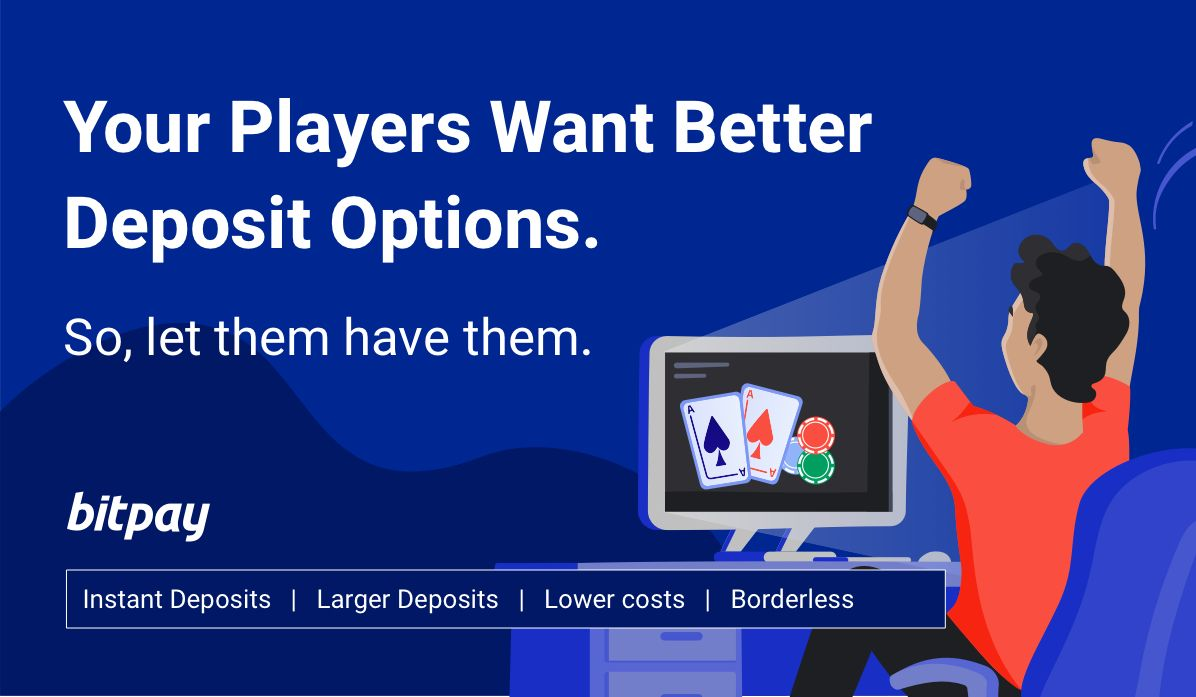 Online gaming operators attract players using BitPay for instant Bitcoin deposits