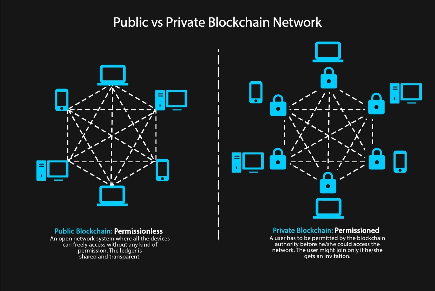 Public or Private Blockchain – best for your Supply Chain?