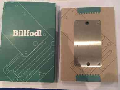 Inside the Billfodl packaging