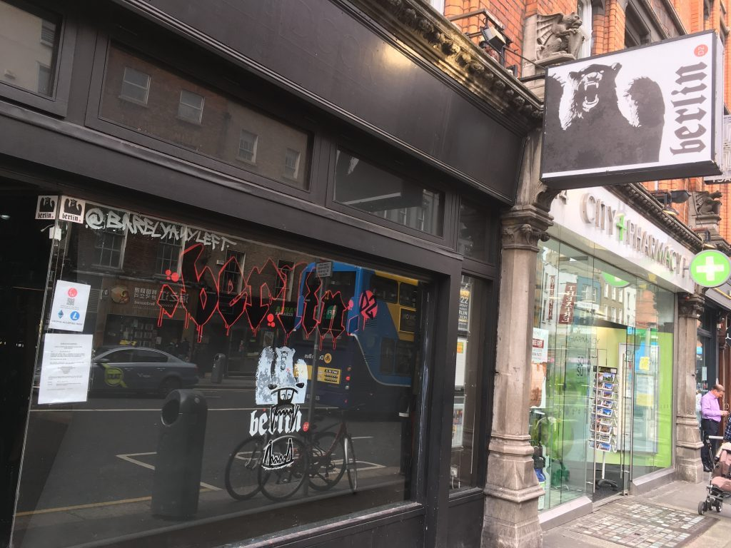 You can buy beer (and food) in Dublin again after a long hiatus