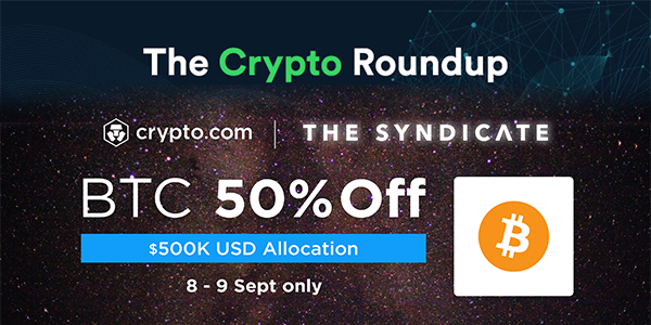 Latest price and news from the crypto space