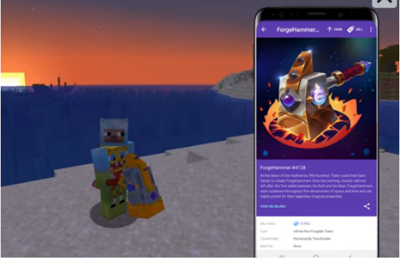 Minecraft Gets Into Crypto By Offering In-Game Items With Enjin