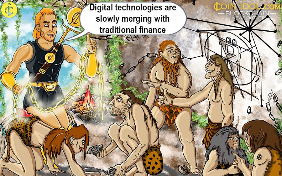 The Merging of Digital and Traditional Worlds Brings Bitcoin to New Highs