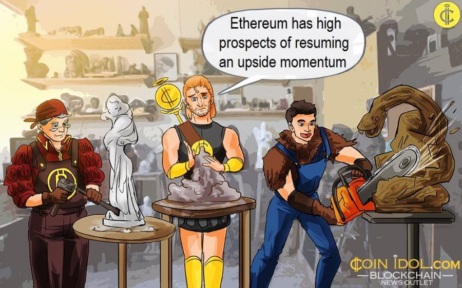 Ethereum has high prospects of resuming an upside momentum