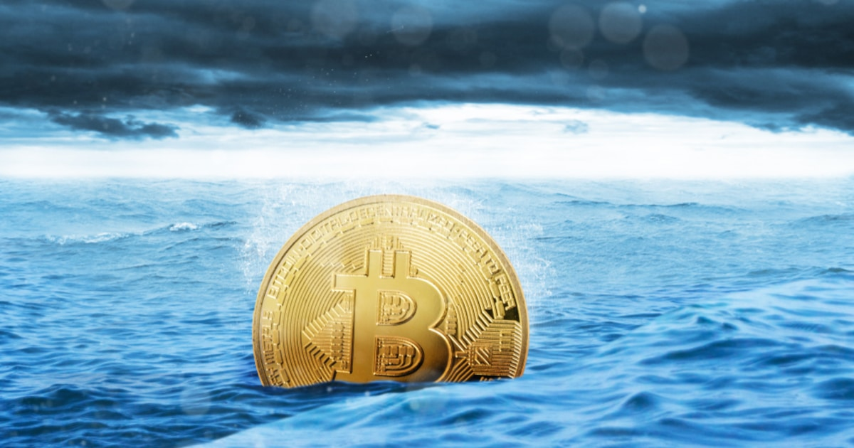 Bitcoin sinks to new depths, unable to sustain a price above $40K