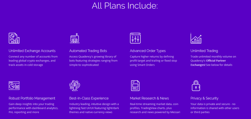 Pricing Plan Features