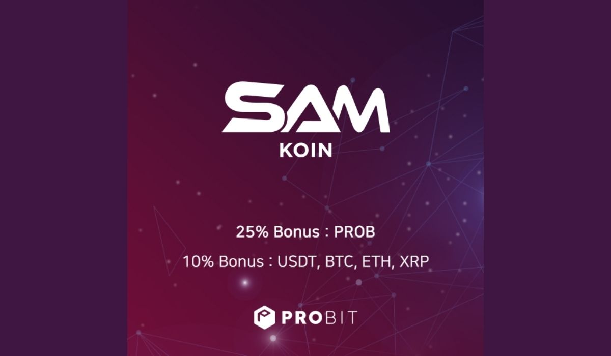 ProBit Exchange Launching SAMKoin (SAMK) IEO   Revolutionizing Cryptocurrency Payment Solutions