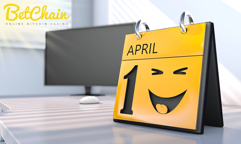 BetChain Casino Players Score 20% Deposit on April Fools Day