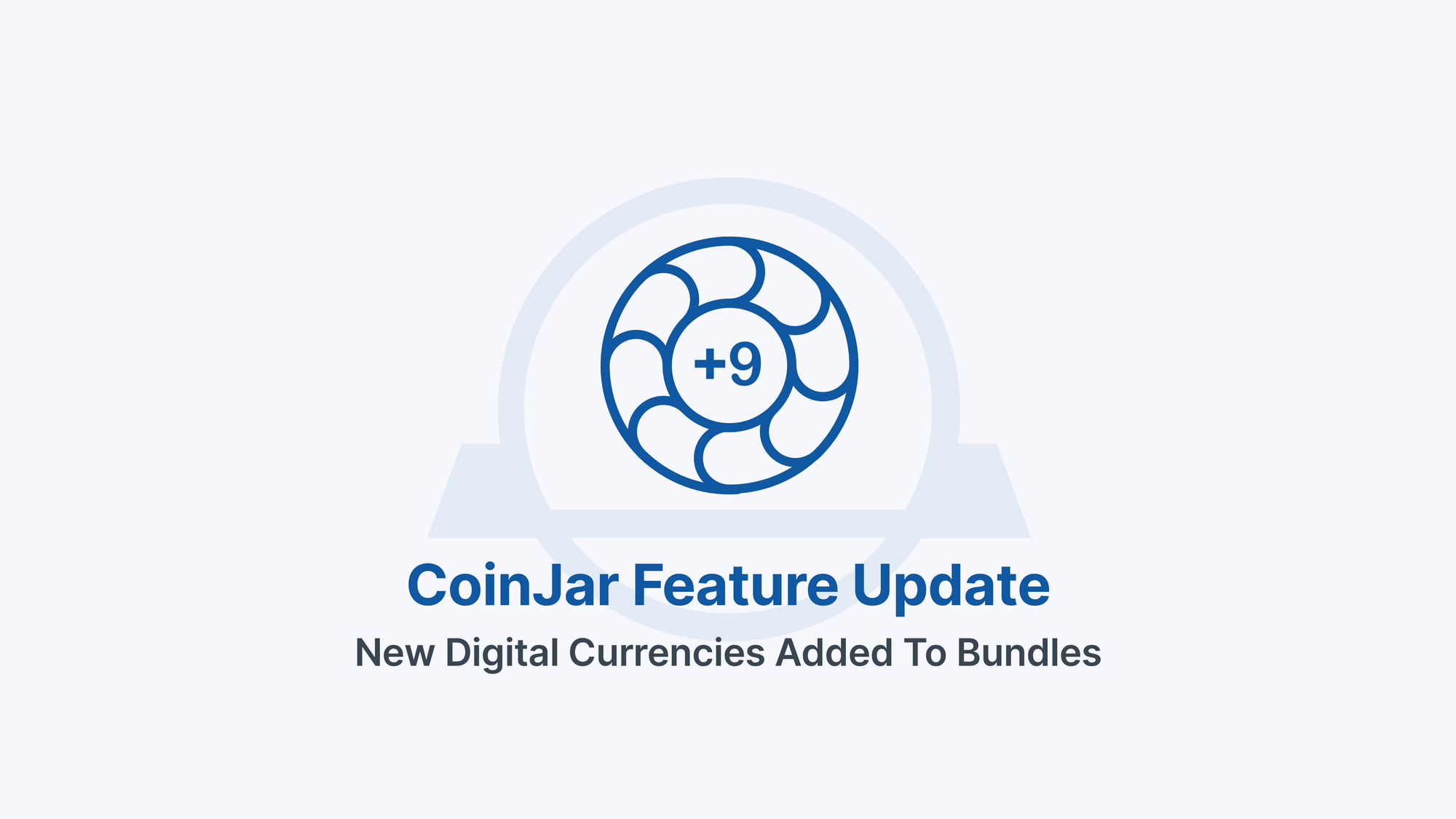 CoinJar Bundles are improving! New tokens and changes to asset allocations.