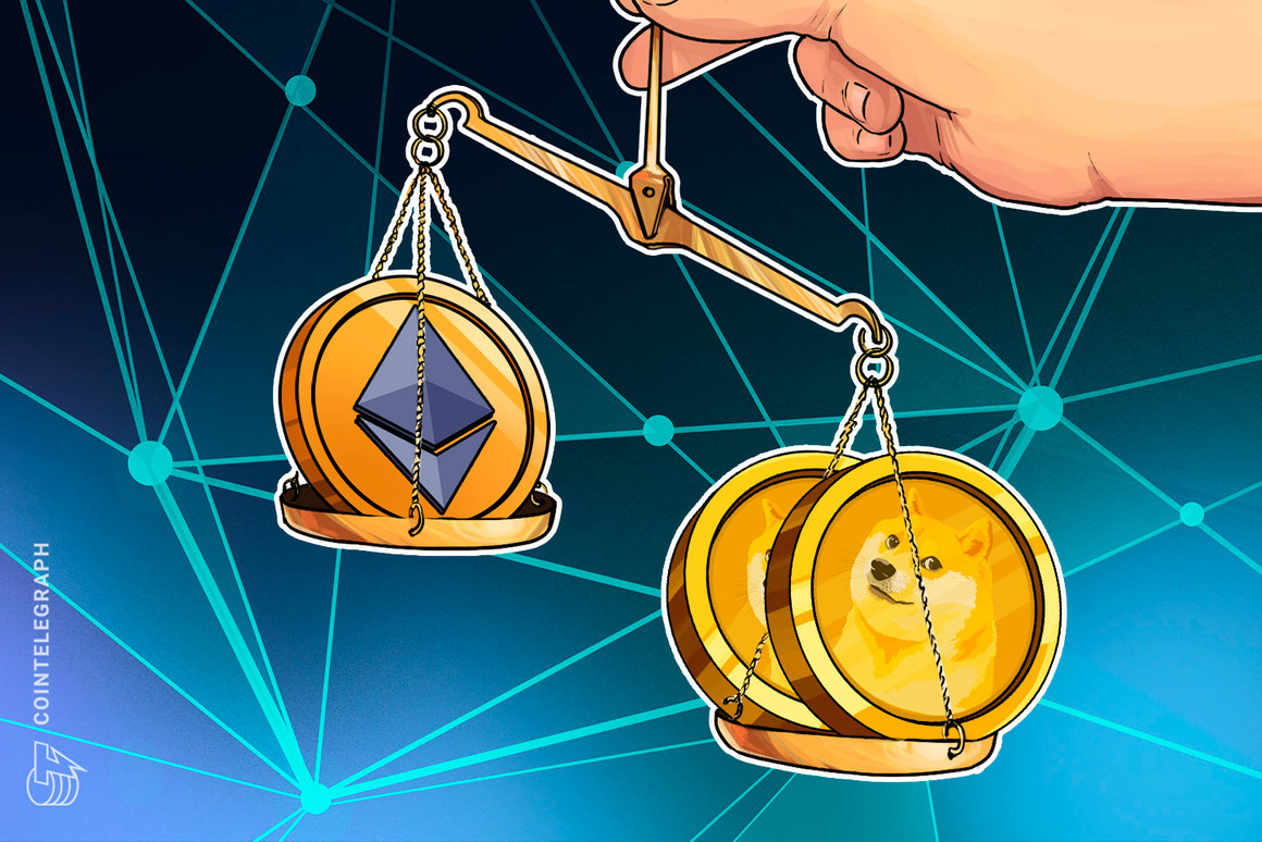 Dogecoin whales move $12B in one day — Twice as much as Ether