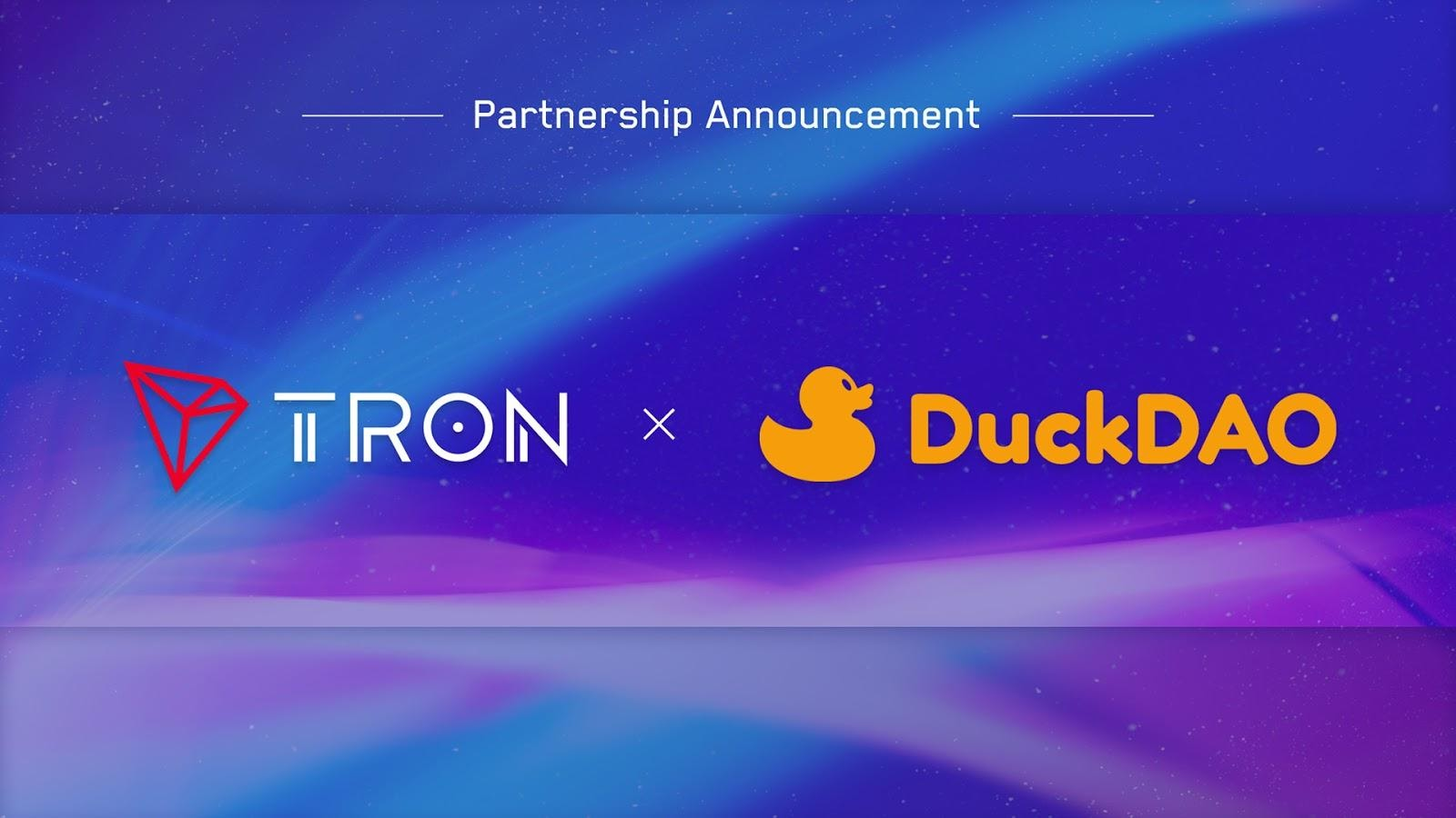 DuckDAO Taps TRON To Further Enhance Its Cross-Chain Foundation