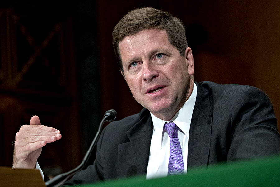 Former SEC chairman warns new crypto regulations could be coming soon.