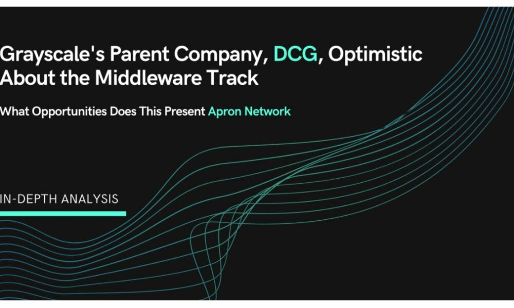 Grayscale's parent company, DCG, optimistic about the Middleware Track