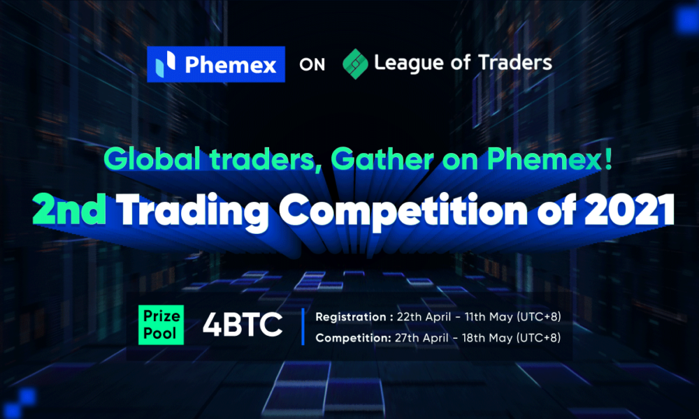 League of Traders competition is back – with up to 4 BTC Prize Pool
