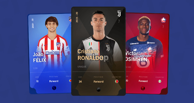 Digital collectible cards.