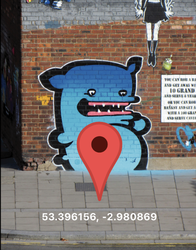 Real-world data comes to NFTs as street artists geotag their work