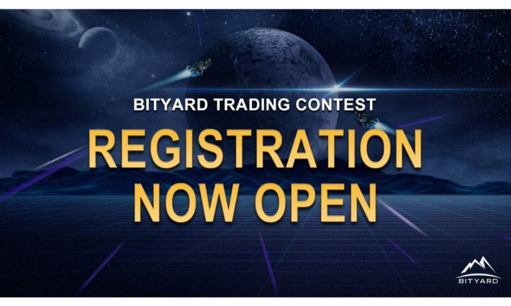 Singapore-based crypto-exchange Bityard to launch its first global trading contest