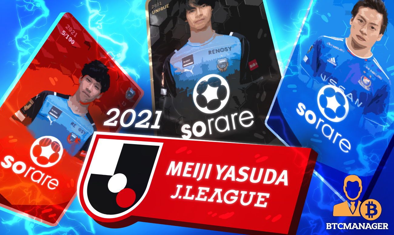 Sorare Drops New 2021 Season J1 League Cards