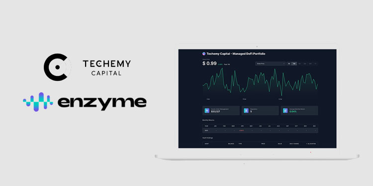 Techemy Capital teams with Enzyme to launch managed portfolio for Ethereum DeFi ecosystem