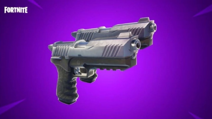The Dual Pistols can be a challenge to find for players