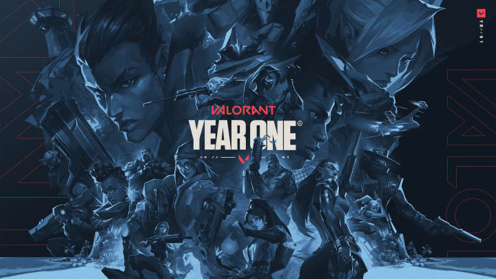 Valorant launched one year ago today.