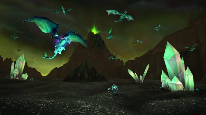Horde players in World of Warcraft will need to summon an wolf spirit in order to solve exactly what's going on in Hellfire Penninsula.