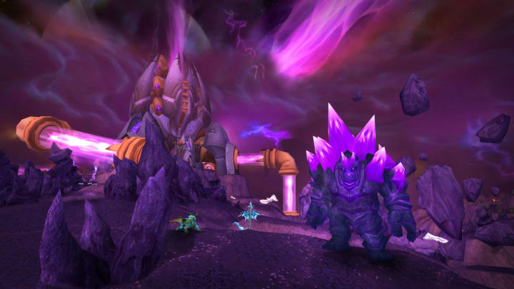 """Alliance players in World of Warcraft Classic won't have to go far to complete this quest, """"An Old Gift,"""" in Outland on the Hellfire Penninsula."""