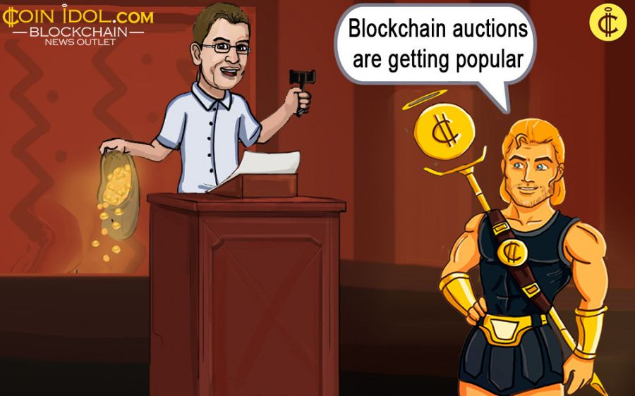 Blockchain auctions are getting popular