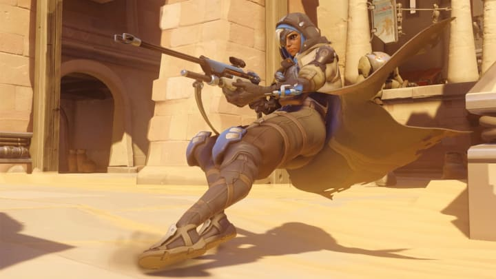 Ana Slides into Action