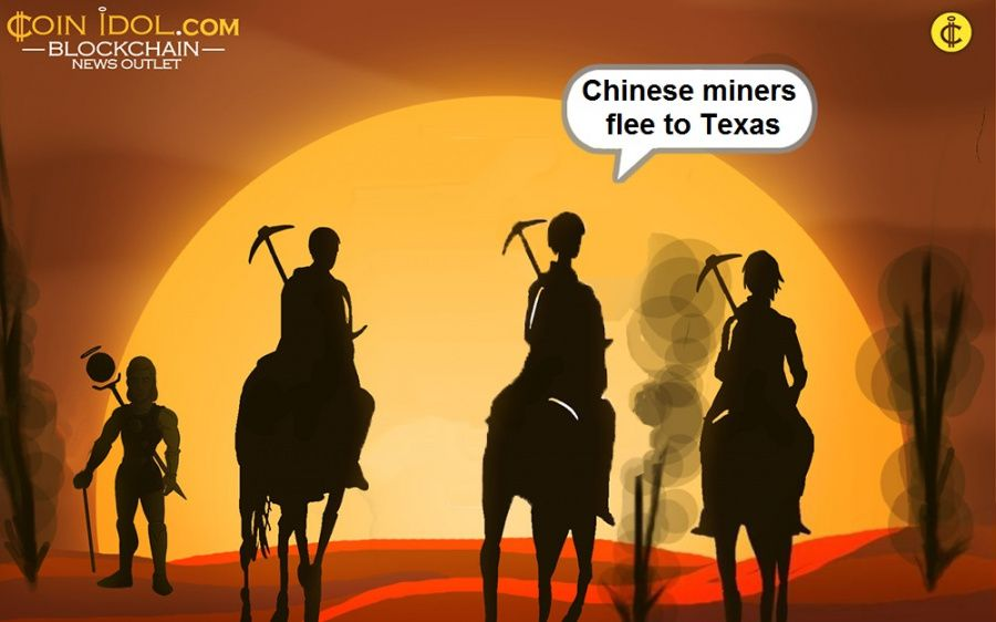 Chinese miners flee to Texas