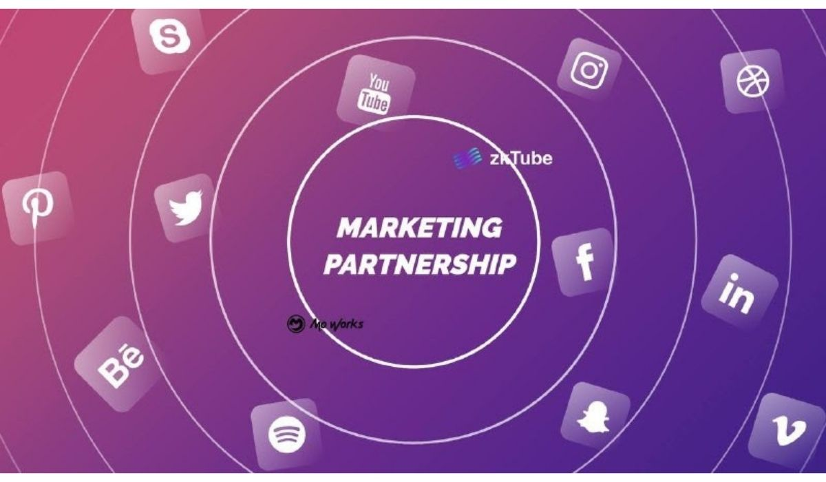 ZkTube Partners With Mo Works to Expand Global Outreach