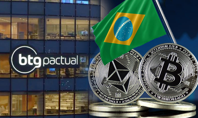 Brazil's investment bank Bitcoin Ethereum