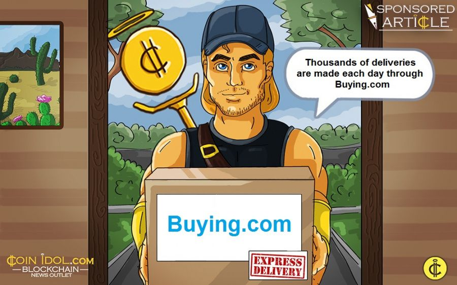 Thousands of deliveries are made each day through Buying.com
